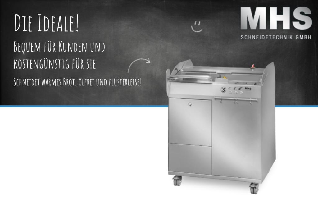 MHS Ideal SB bei Delta Bäckerei Maschinen