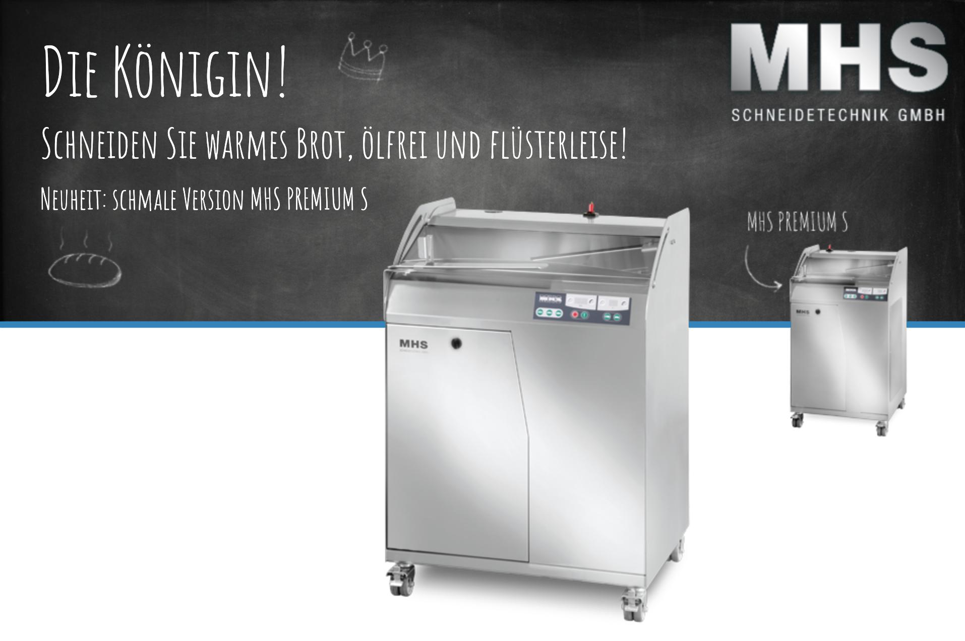Die Brotschneidemaschine MHS Premium bei Delta-Back