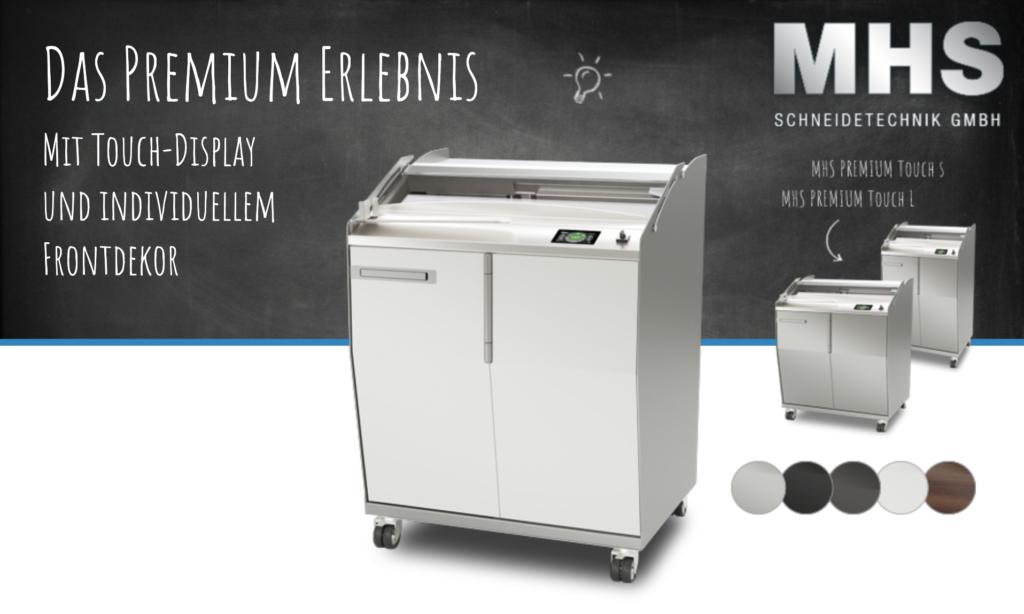 MHS Premium Touch bei Delta Bäckerei Maschinen